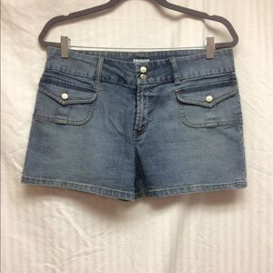 No Boundaries Stretch Denim Shorts
